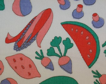 Corduroy Fruit Fabric