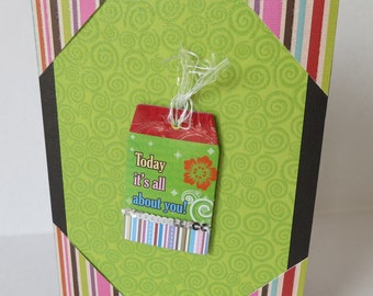 All About You Christian Birthday Card With Scripture