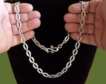 Silver CHAIN - handmade.02