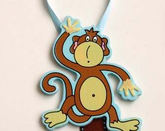 Barrette Keeper Organizer Monkey
