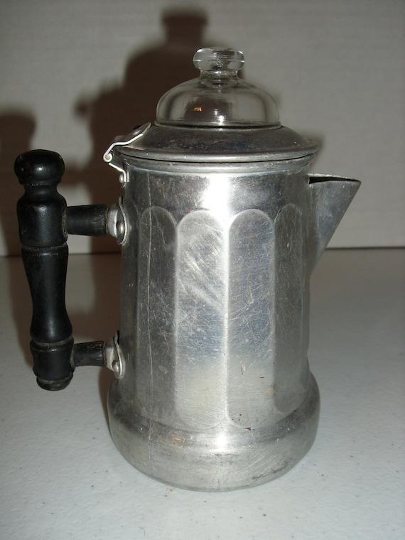 Mirro Percolator Coffee Maker : Vintage Toy Aluminum Mirro Coffee Pot and Vintage by likemydolls