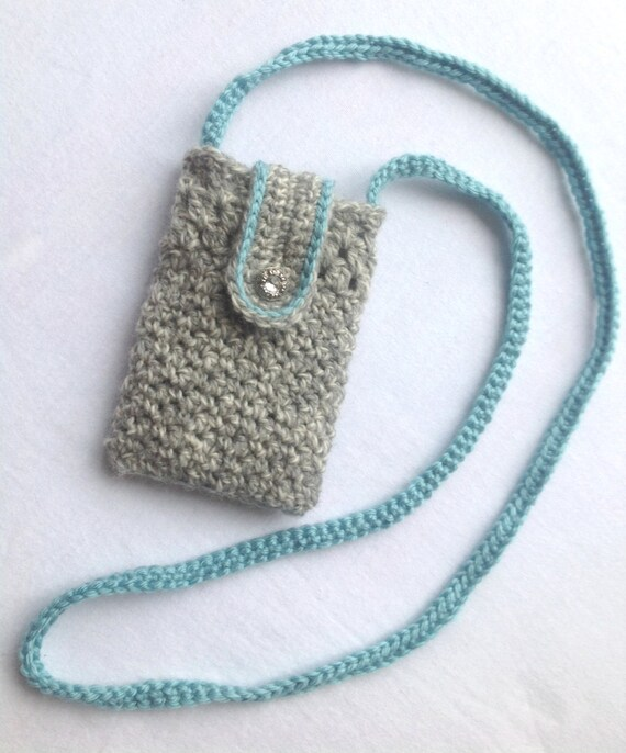 Crochet Cell Phone Purse : ... Phone Purse, Crochet Phone Purse, Crochet, Cell phone Crossbody Purse