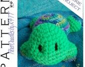 INSTANT DOWNLOAD : Little Pals - Turtle Crochet Pattern