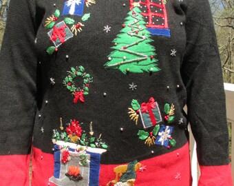 Tacky sweater, ugly sweater, tacky sweater party, ugly sweater party, holiday sweater, holiday sweater party, christmas sweater, sweater,