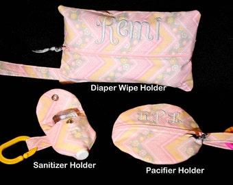 Custom Diaper Wipe Holder
