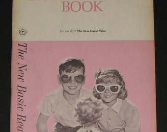 1963 Think and Do Book for use with The New Guess Who - Dick and Jane Junior Primer - NEAR NEW - unused workbook