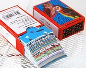 Nathalie Lete Match Box Label Stickers / 72 sheets - Refill A (1.7 x 2.5in)