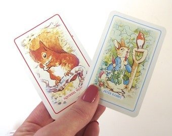 Beatrix Potter's Rummy, Vintage Pepys Series Card Game