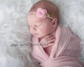 Felt Flower Headband - Pick Your Own Posy - Felt Baby Headband, Baby Flower Headband, Baby Headband, Newborn Headband, Toddler Headband