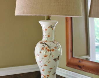 Butterfly and Cherry Blossom Lamp