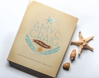 The Amy Custom WedLibs Guestbook