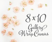 Gallery Wrap Canvas, 8x10 - Nursery Art, Childrens Art, Custom Art Print