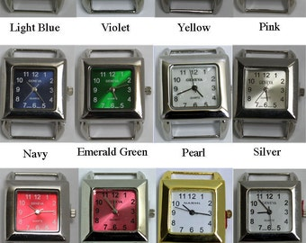 Square Watch Faces for Interchangeable Bracelet Watch