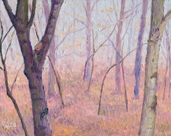 Giclee print, Fog in the Woods, 8 x 10 in.