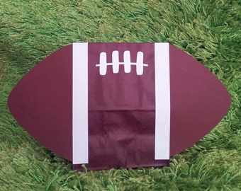 Football Birthday Party Treat Sacks Sports Gridiron Superbowl Theme Goody Favor Bags by jettabees on Etsy