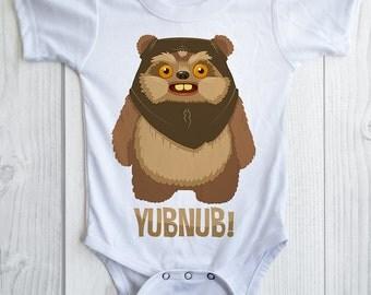 STAR WARS birthday shirt - EWOK personalized birthday shirt - Yubnub