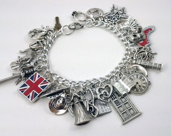 Ultimate Doctor's Companion Charm Bracelet