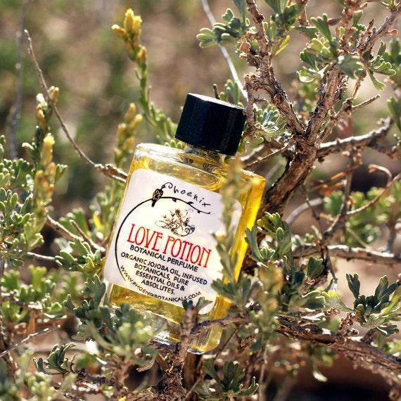 Love Potion - Botanical Perfume - Floriental - Aphrodisiac - Spicy Warm Floral - 100% Natural - Vegan - 5 ml