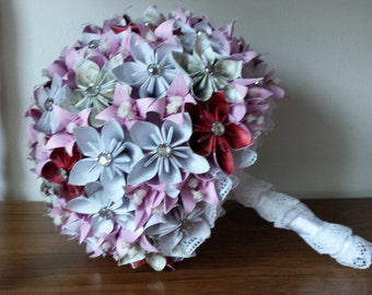 Origami Wedding Bouquet (Purple)