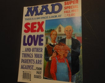 vintage Mad magazine, Super special fall 1983, used but good condition.