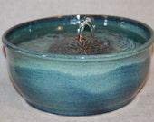 "Cat Fountain -  Pet Water Fountain - Indoor Fountain - 10.5 Inch Diameter - ""REDUCED - Starburst"""