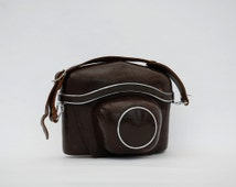 Vintage Camera Leather Case Zeiss Ikon Accessories - Gift idea father day - Collectibles - Mid century