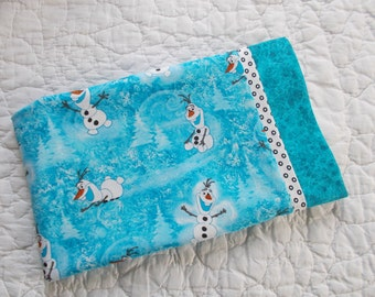 Olaf The Snowman Children or travel Pillow Case