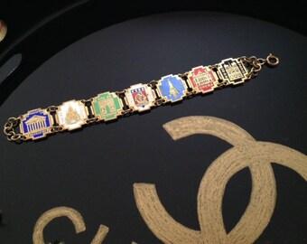 Vintage Paris France Souvenir Bracelet