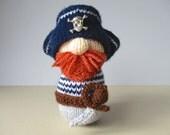 Pirate Pete toy knitting patterns