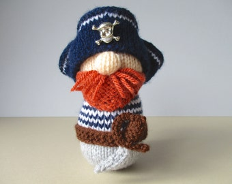 Pirate Pete toy knitting patterns