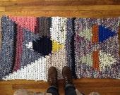 Cavern Tapestry Crochet Rug