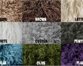 Faux Flokati Fur YOU CHOOSE the Color, Fur Blanket, Photography Prop, Faux Fur Rug, Newborn Fur, Newborn Baby Photography