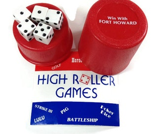Fort Howard Paper Company Promotional Dice Game