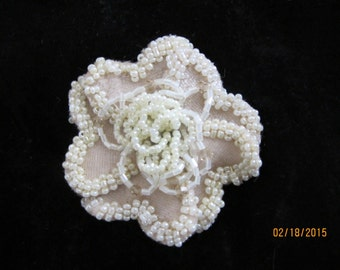 Flower Applique price is for 3