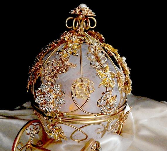 Cinderella Wedding Theme Ideas: Cinderella Wedding Centerpiececarriage Cake Topper Centerpiece
