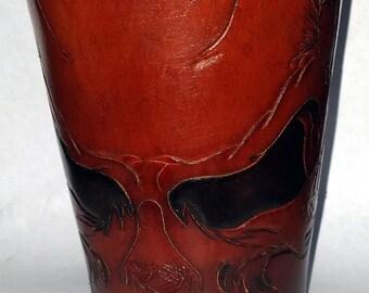 Mad Skull Carved Gauntlet (120314)
