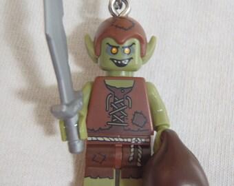 Custom Goblin Necklace Made With Genuine LEGO® Bricks