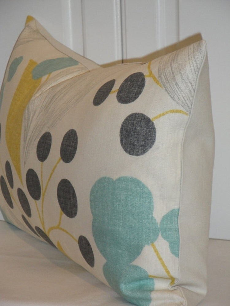 Throw Pillow Covers 25x25 : KRAVET Decorative Pillow Cover Accent by TurquoiseTumbleweed