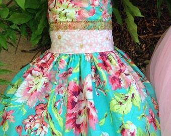Girls Custom Boutique Dress