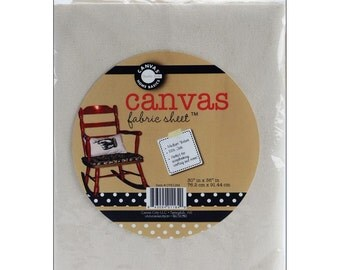 Canvas Corp Blank Canvas Sheet One Yard DIY Ready to Embellish Decorate Paint