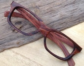 yellow rosewood  Autumn handmade  customized prescription   eyeglasses   glasses frames