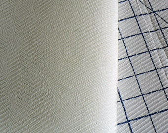 fine ivory veil - fine birdcage veiling - hat making veil