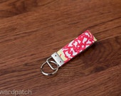 KEYCHAIN in Lilly Pulitzer Chi Omega