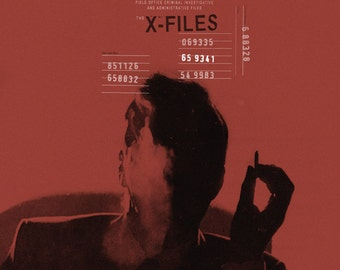 The X-Files alternative movie poster