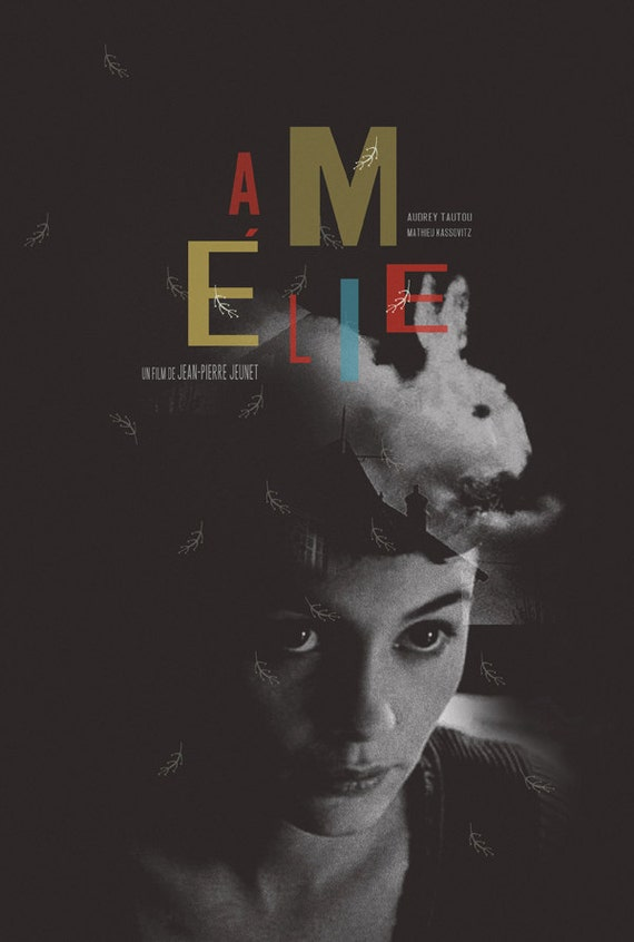 Amelie alternative movie poster