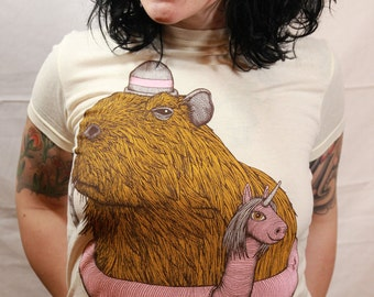 Nigel The Capybara - Womens
