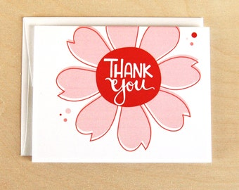 Thank You Flower Card