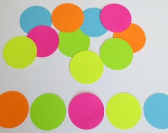 "Neon 2"" Circle Cutouts"