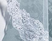 Beaded Alencon Lace