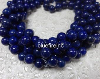 8mm Azura Lapis Lazuli Gemstone AA Blue Round 8mm Loose Beads 15.5 inch Full Strand
